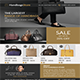 Handbags Store Flyer Template
