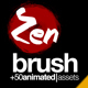 Zen Brush Opener - VideoHive Item for Sale