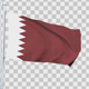 Qatar Flag - VideoHive Item for Sale