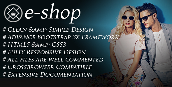 e-SHOP – Responsive HTML5 Ecommerce Template