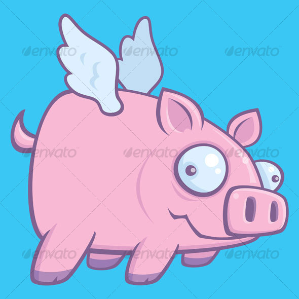 When Pigs Fly - Animals Characters