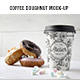 Coffee Doughnut Mockup - GraphicRiver Item for Sale