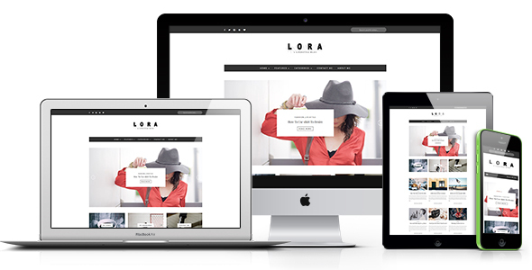LORA – Clean & Personal WordPress Blog Theme