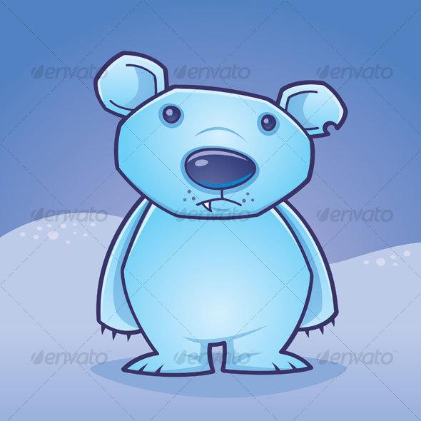 Polar Bear Cub - Animals Characters
