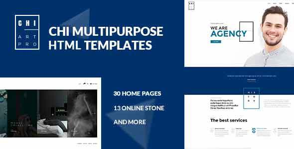 CHI – Responsive Creative HTML Template