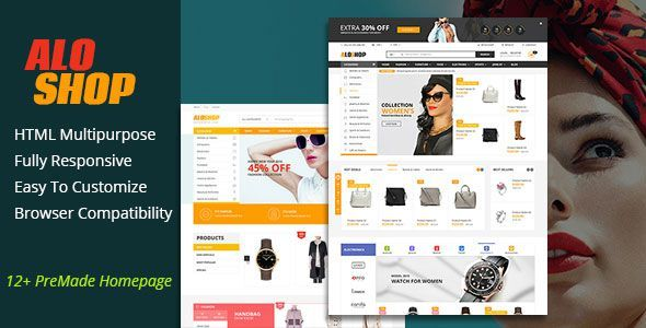 AloShop - Multi-Purposes HTML Template