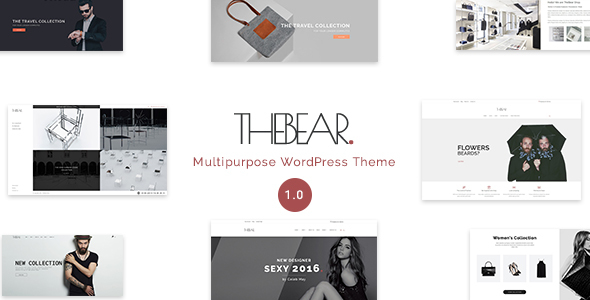 Thebear – Multipurpose Woocommerce Theme
