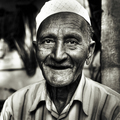 Happy Indian Senior Smiling Concept