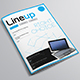 Lineup Technology Magazine Template - GraphicRiver Item for Sale
