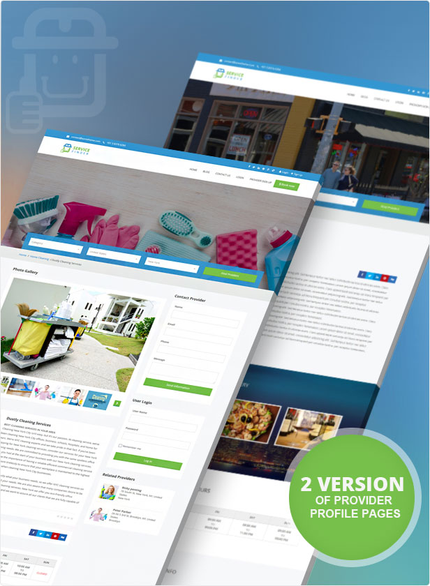 Service Finder - Provider and Business Listing WordPress Theme