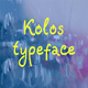 Kolos typeface - GraphicRiver Item for Sale