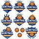 Basketball Logo Templates - GraphicRiver Item for Sale