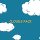 Cartoon Clouds Pack - VideoHive Item for Sale