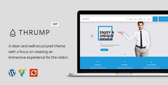 Thrump - Modern Business WordPress Theme