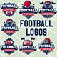 American Football Vector Logos Vol.2 - GraphicRiver Item for Sale