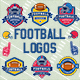 American Football Vector Logos - GraphicRiver Item for Sale