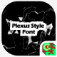 Plexus Style Font - VideoHive Item for Sale