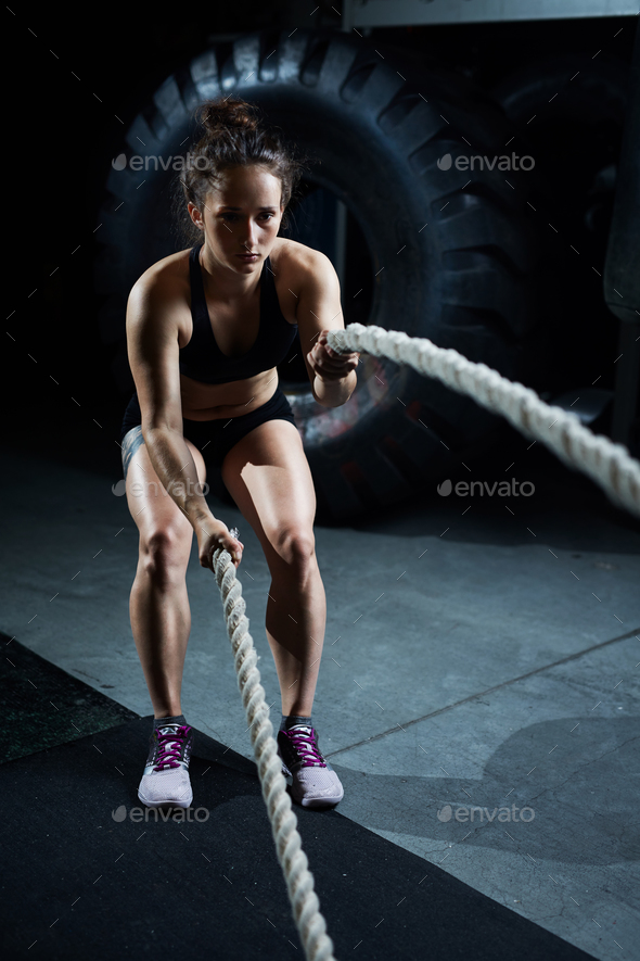 Training in gym - Stock Photo - Images