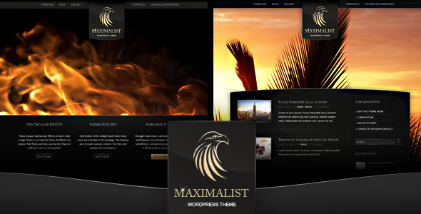 Maximalist – WordPress Theme
