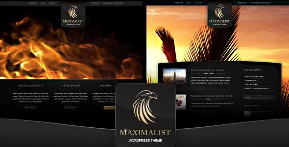 Maximalist - WordPress Theme