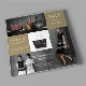 Handbags Square Tri-Fold - GraphicRiver Item for Sale