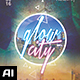 Glow City Flyer - GraphicRiver Item for Sale