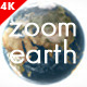 Zoom Earth and Logo Reveal - VideoHive Item for Sale