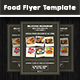 Food Flyer Template Vol. 7 - GraphicRiver Item for Sale