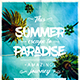 Summer Escape Party Poster vol.2 - GraphicRiver Item for Sale