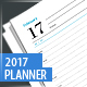 Planner, Diary, Organizer 2017 - GraphicRiver Item for Sale