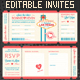 Las Vegas Wedding Invite Tickets - GraphicRiver Item for Sale