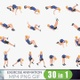 30 Looped Exercise - Woman - VideoHive Item for Sale