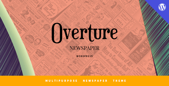 Overture – WordPress Magazine News Theme