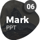 MARK06-Minimal Powerpoint Template - GraphicRiver Item for Sale