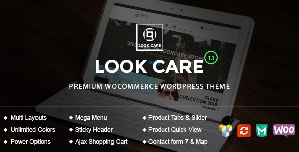 LookCare - Responsive Fashion WordPress Theme