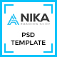 Anika Fashion Shop  PSD Template - ThemeForest Item for Sale