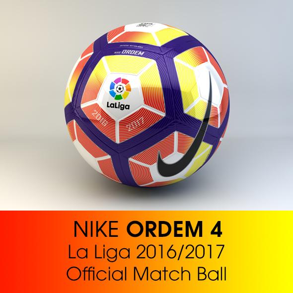Nike ORDEM 4 La Liga - 3DOcean Item for Sale