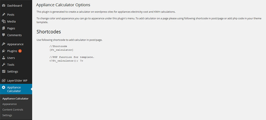 Electric Appliances Cost Calculator by webfulcreations   CodeCanyon
