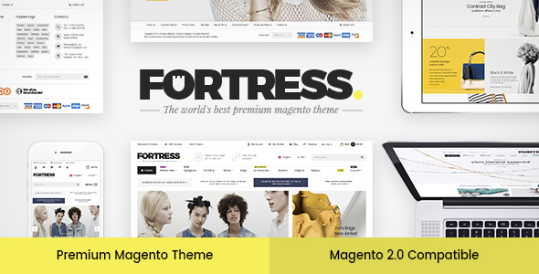 Fortress – Multi-Purpose Responsive Magento 2 and Magento 1 Theme