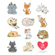 Set of Cat Breeds - GraphicRiver Item for Sale