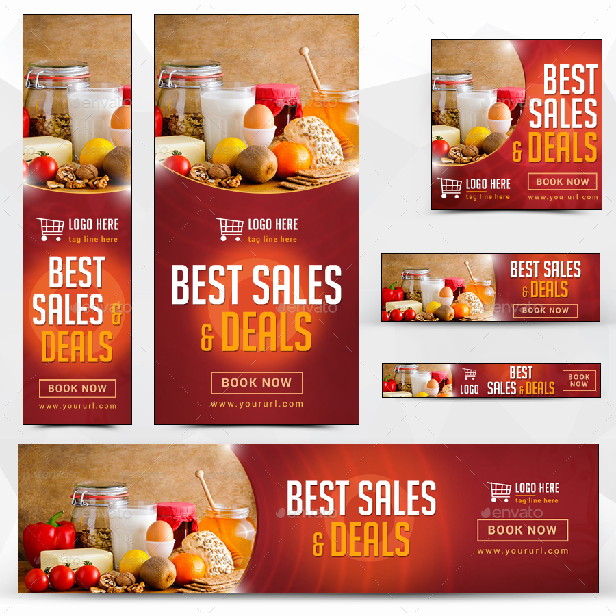 Product Sale Banners by doto | GraphicRiver