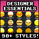 Designer Essentials Ultimate Precious Styles Bundle Vol.1 - GraphicRiver Item for Sale