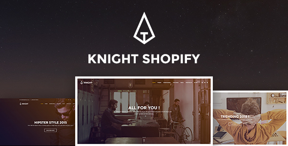 Knight - Responsive Shopify Theme