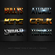 3D Photoshop Text Effects Bundle Six - GraphicRiver Item for Sale