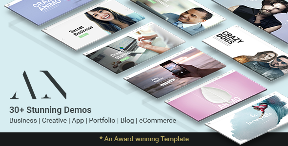 Animo – Modern & Clean Multi-Purpose WordPress Theme