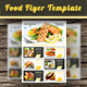Food Flyer Template Vol. 6 - GraphicRiver Item for Sale