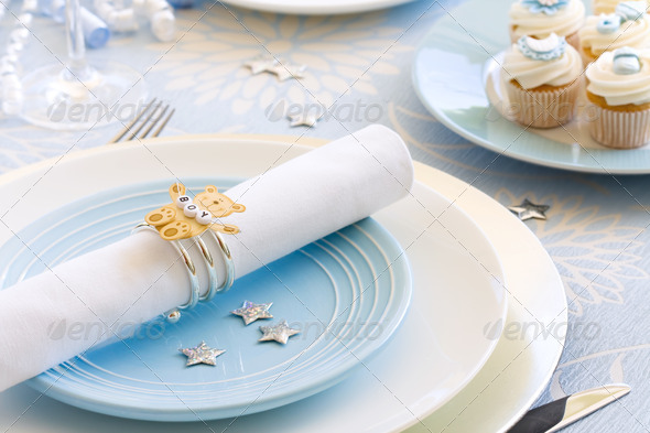 Baby shower - Stock Photo - Images
