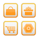 19 Orange & Gray Ecommerce / Web Store Elements - GraphicRiver Item for Sale