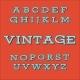 Retro Vintage Style Alphabet Font - GraphicRiver Item for Sale
