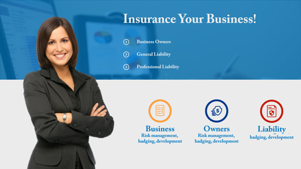 insurance after effects template  Insurance Presentation - Insurance Service Promo by motion-template